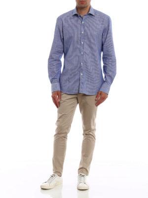 FAY: camicie online - Camicia classica in cotone a righe