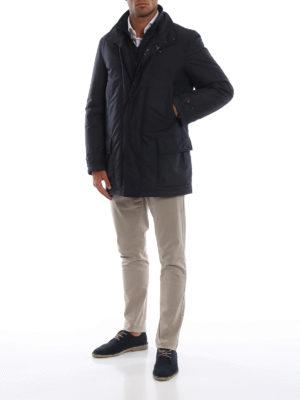 FAY: cappotti corti online - Cappottino con double front e imbottitura