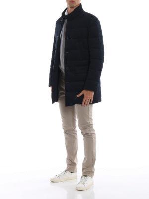 FAY: cappotti corti online - Piumino stretch in tessuto tecnico trapuntato