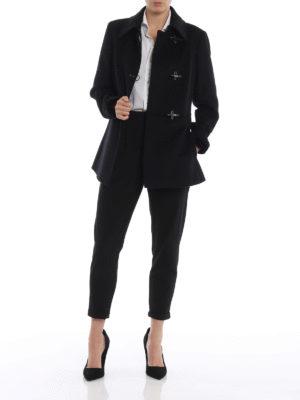 FAY: cappotti corti online - Cappottino Virginia in lana e cashmere