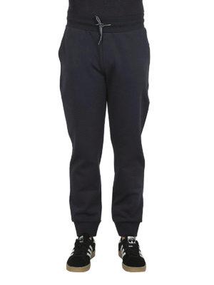 FAY: pantaloni sport online - Pantaloni della tuta in cotone blu