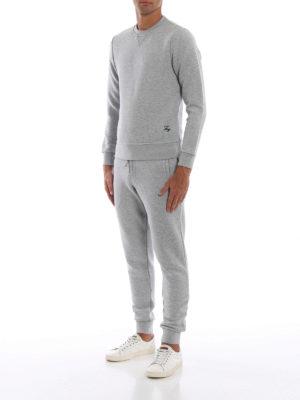 FAY: pantaloni sport online - Pantaloni da tuta in misto cotone mélange