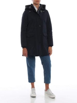 FAY: cappotti trench online - Trench imbottito con cappuccio