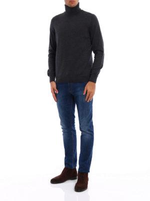 FAY: maglia a collo alto e polo online - Pull a collo alto in pura lana