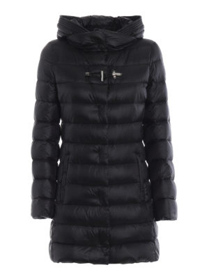 FAY: cappotti imbottiti - Piumino in nylon con avvolgente cappuccio