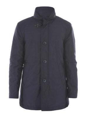Fay: padded coats - Cotton blend padded short coat