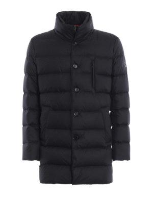 FAY: cappotti imbottiti - Giaccone imbottito blu scuro con double front