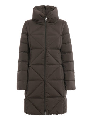 Fay: padded coats - Diamond quilted padded coat