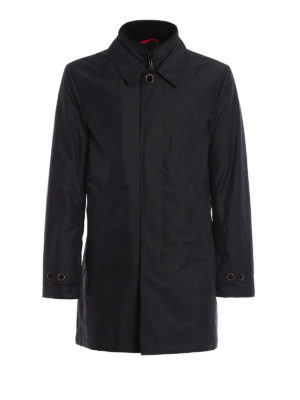 Fay: padded coats - Double collar nylon padded coat