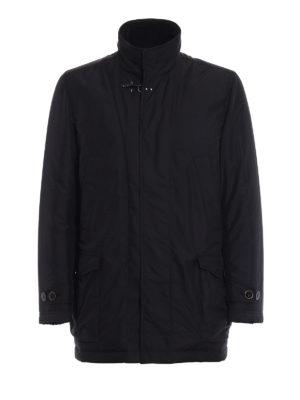 Fay: padded coats - Double-front padded  short coat