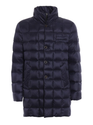 Fay: padded coats - Double front quilted padded jacket