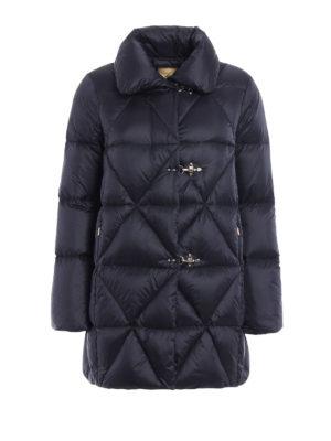 Fay: padded coats - Egg-shaped padded short coat
