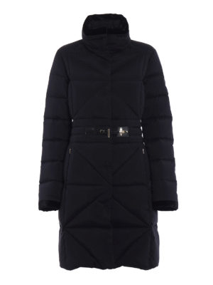 Fay: padded coats - Frog closure fitted padded coat