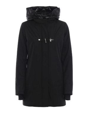 FAY: cappotti imbottiti - Cappotto in nylon con gilet removibile