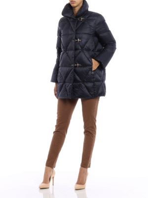 Fay: padded coats online - Egg-shaped padded short coat