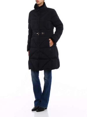Fay: padded coats online - Frog closure fitted padded coat