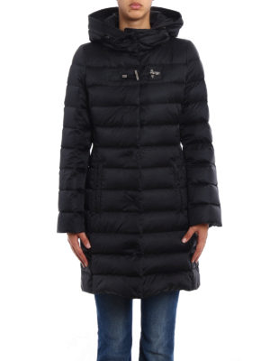 Fay: padded coats online - Frog detailed puffer coat