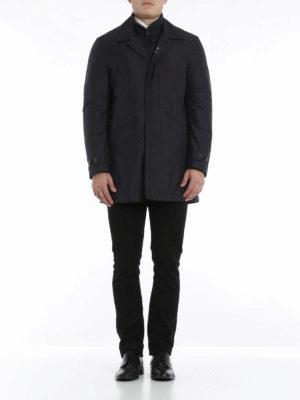 Fay: padded coats online - Poplin coat