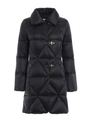 Fay: padded coats - Technical fabric shaped padded coat