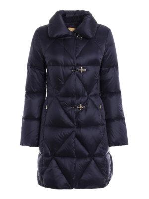 Fay: padded coats - Technical fabric shaped padded coat