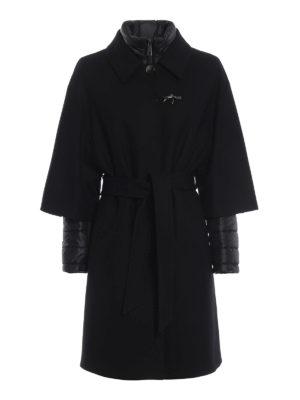 FAY: cappotti imbottiti - Cappotto nero double front due in uno