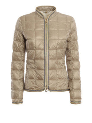 Fay: padded jackets - Check quilted and padded jacket