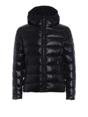 Fay: padded jackets - Double zip semiglossy jacket