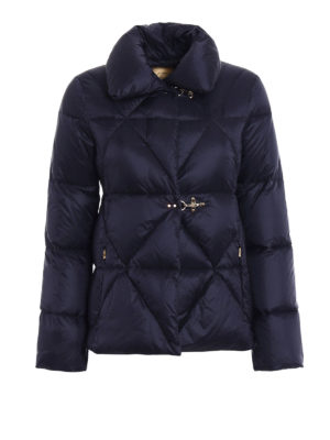 Fay: padded jackets - Hooks detail quilted padded jacket