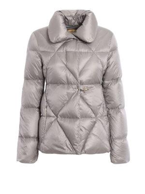 Fay: padded jackets - Hooks detail shiny padded jacket