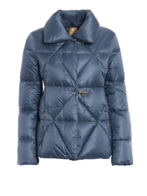 Fay: padded jackets - Iconic hooks quilted padded jacket
