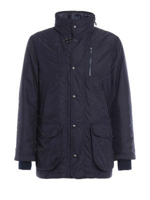 Fay: padded jackets - Nylon field jacket with waistcoat
