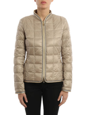 Fay: padded jackets online - Check quilted and padded jacket