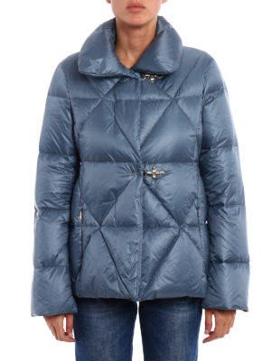 Fay: padded jackets online - Iconic hooks quilted padded jacket