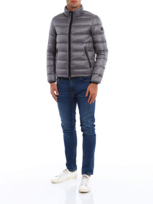 Fay: padded jackets online - Matte nylon quilted padded jacket