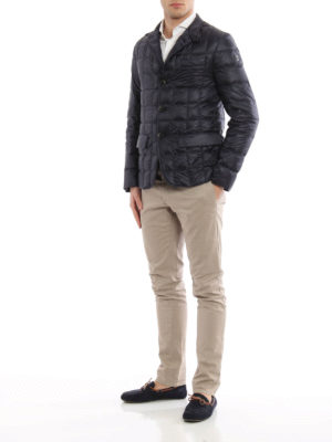 Fay: padded jackets online - Padded quilted nylon blazer