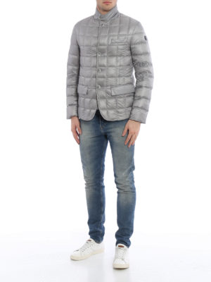 Fay: padded jackets online - Quilted padded nylon blazer