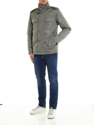 Fay: padded jackets online - Soft padded field jacket