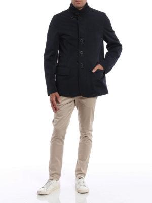 Fay: padded jackets online - Urban techno jacket