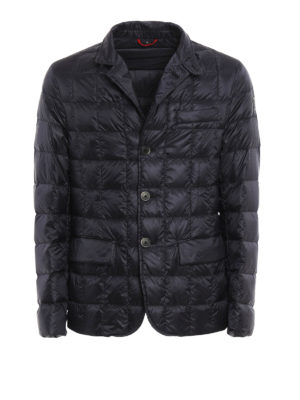 Fay: padded jackets - Padded quilted nylon blazer