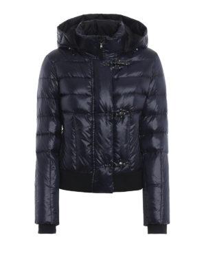 FAY: giacche imbottite - Piumino corto con cappuccio staccabile