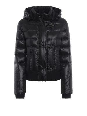 FAY: giacche imbottite - Piumino trapuntato con cappuccio staccabile