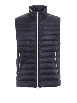 Fay: padded jackets - Sleeveless slightly padded jacket