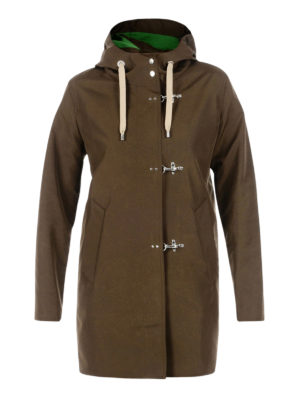 Fay: parkas - Hooded rain proof parka