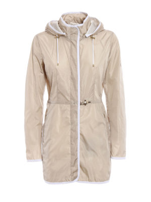 Fay: parkas - Light nylon hooded raincoat
