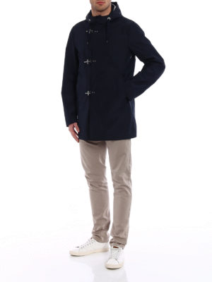 Fay: parkas online - Technical fabric parka