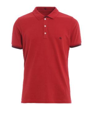Fay: polo shirts - Striped details polo shirt