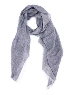 Fay: scarves - Linen melange summer scarf