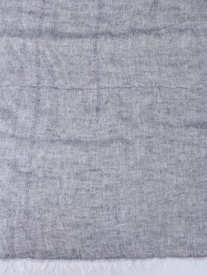 Fay: scarves online - Linen melange summer scarf
