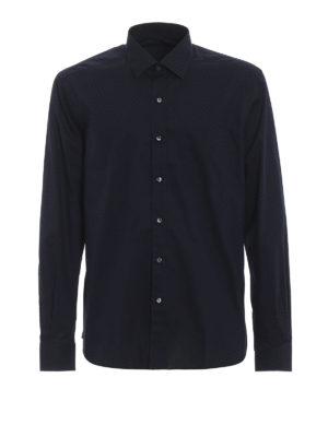 FAY: camicie - Camicia in cotone blu