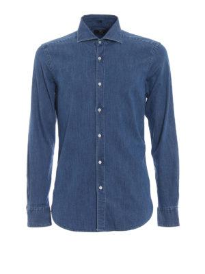 Fay: shirts - Denim classic shirt